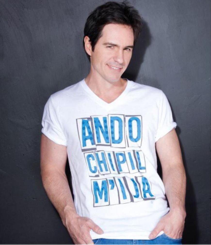 Mauricio Ochmann con su línea de ropa CHV by Ochmann
