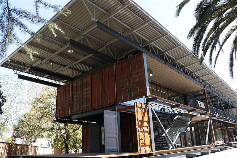 Edificio Recicla en Chile