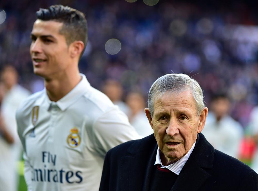 Raymind Kopa y Cristiano Ronaldo