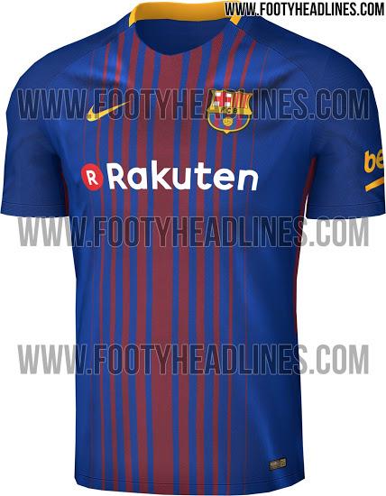 Este sería el nuevo jersey del Barcelona