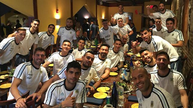 Comida de la selección de Argentina