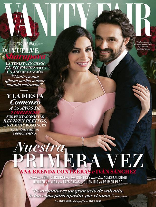 Ana Brenda e Iván Sánchez posan para la portada de Vanity Fair México