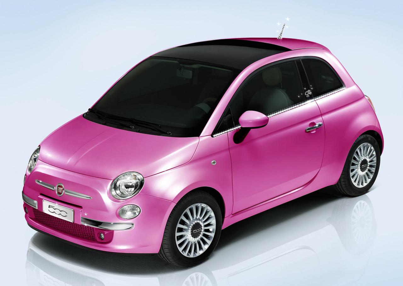 Fiat 500 Barbie Edition