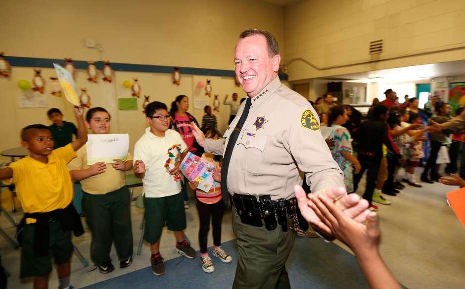 Jim McDonnell, sheriff del condado de Los Ángeles, se opone a la medida SB 54 que convertiría a Californai en un estado santuario. (Aurelia Ventura/La Opinion)