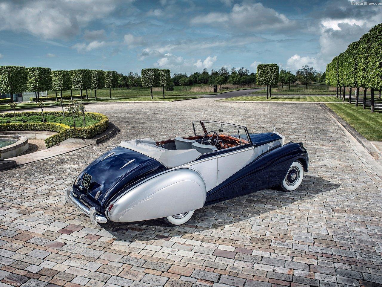 Rolls-Royce Silver Dawn Drophead 1952