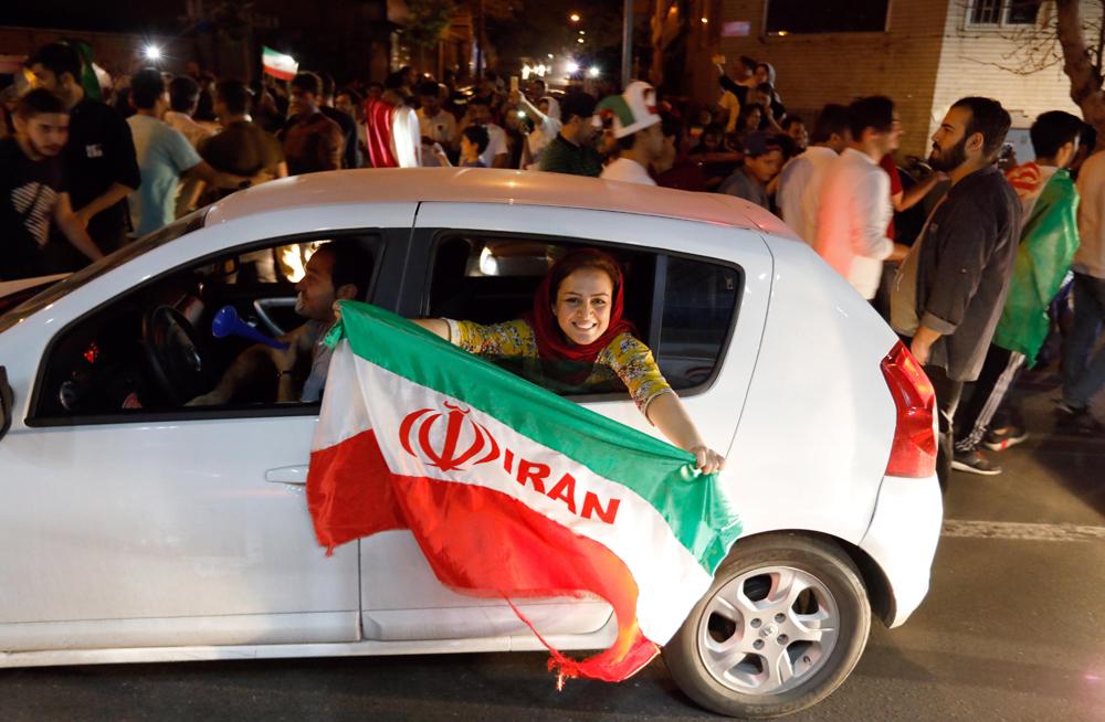En Irán se desataron los festejos, tras la calificación al Mundial de Rusia 2018