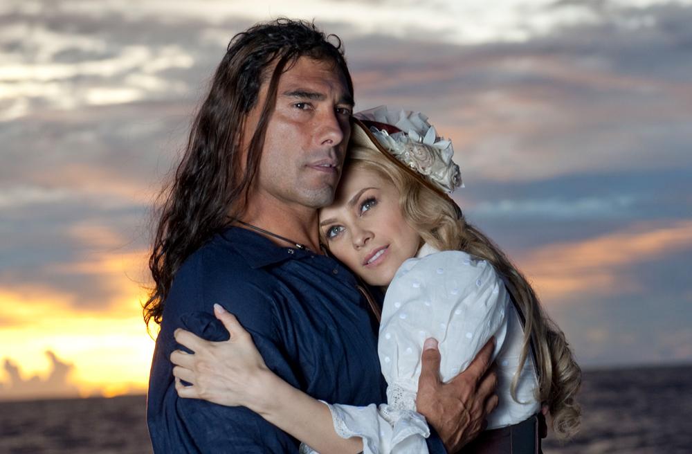 """""""Corazón Salvaje"""" (versión 2009) protagonizada por Eduardo Yáñez y Aracely Arámbula"""