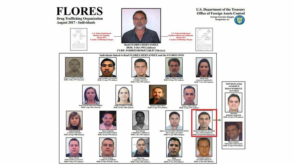 Rafa Márquez aparece en la lista de 21 sancionados por el Departamento del Tesoro