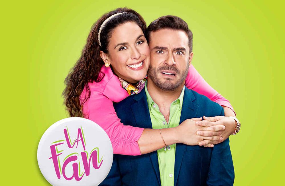 """""""La Fan"""" protagonizada por Angélica Vale y Juan Pablo Espinoza"""