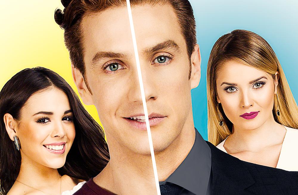 ¿Quién es quién? fue protagonizada por Eugenio Siller, Danna Paola y Kimberly dos Ramos
