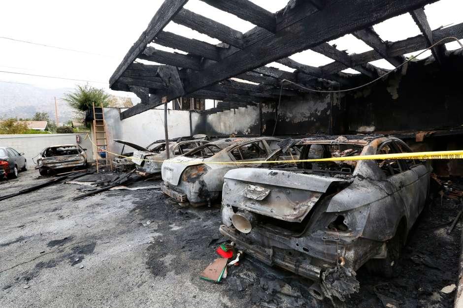 Los daños se estiman en $120,000 dólares. (Aurelia Ventura/La Opinion)