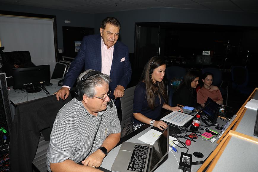 Don Francisco en la producción de 'Gran Oportunidad'