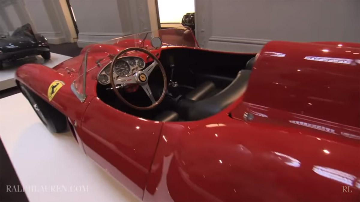 Un Ferrari de la colección de Ralph Lauren