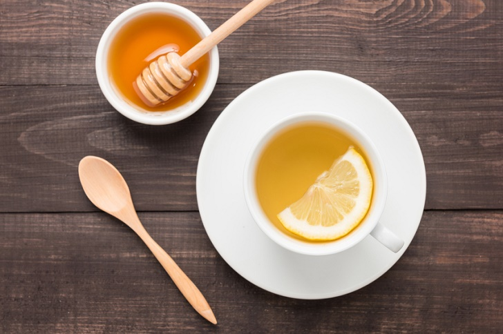 Té de miel con limón