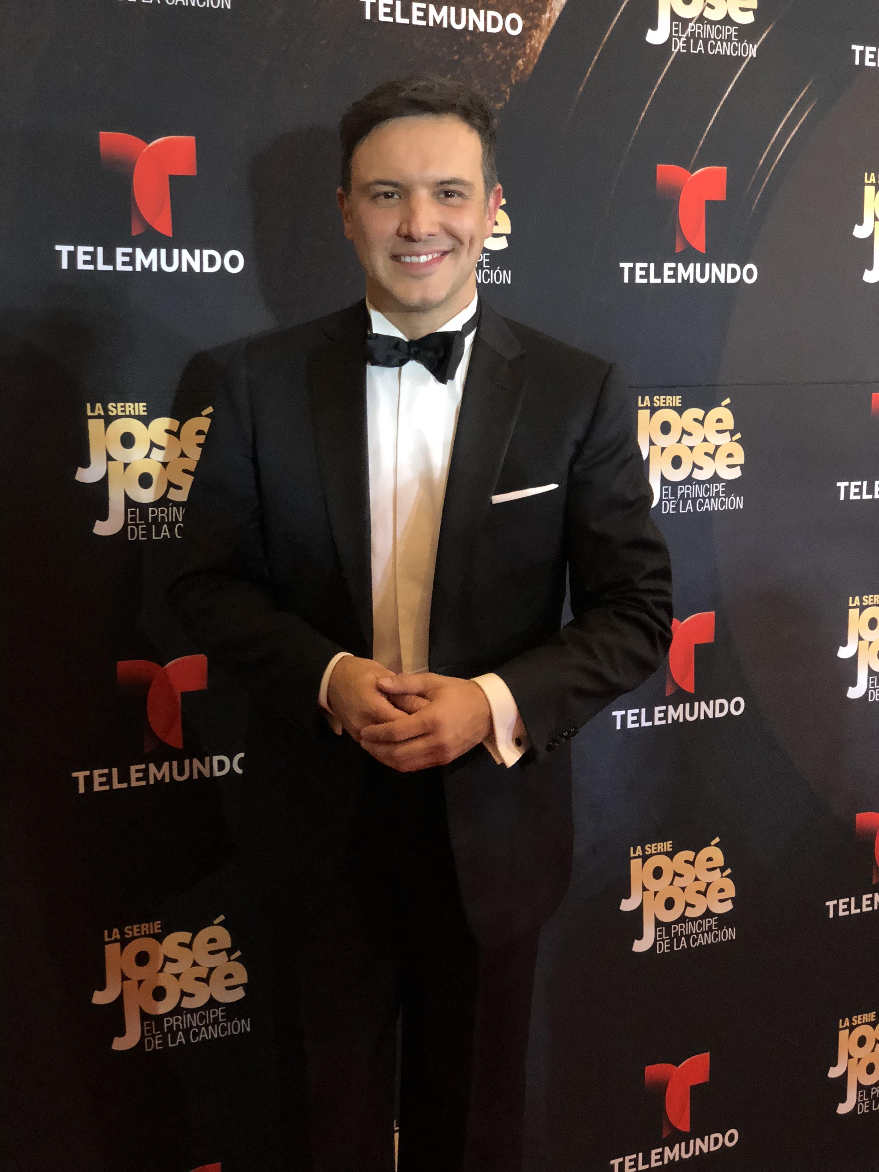 Alejandro de la Madrid da vida a José José en bioserie de Telemundo