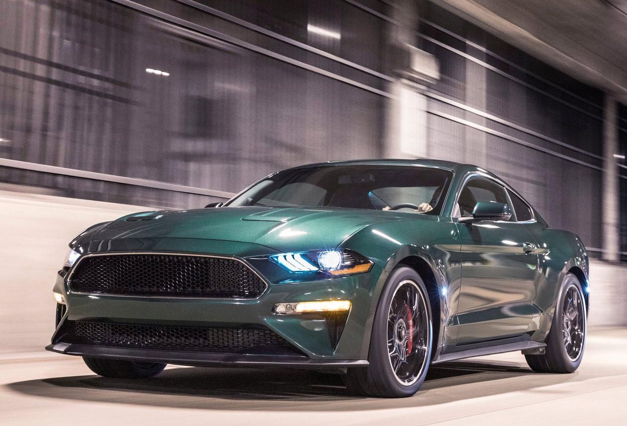 Ford Mustang Bullitt 50 Aniversario