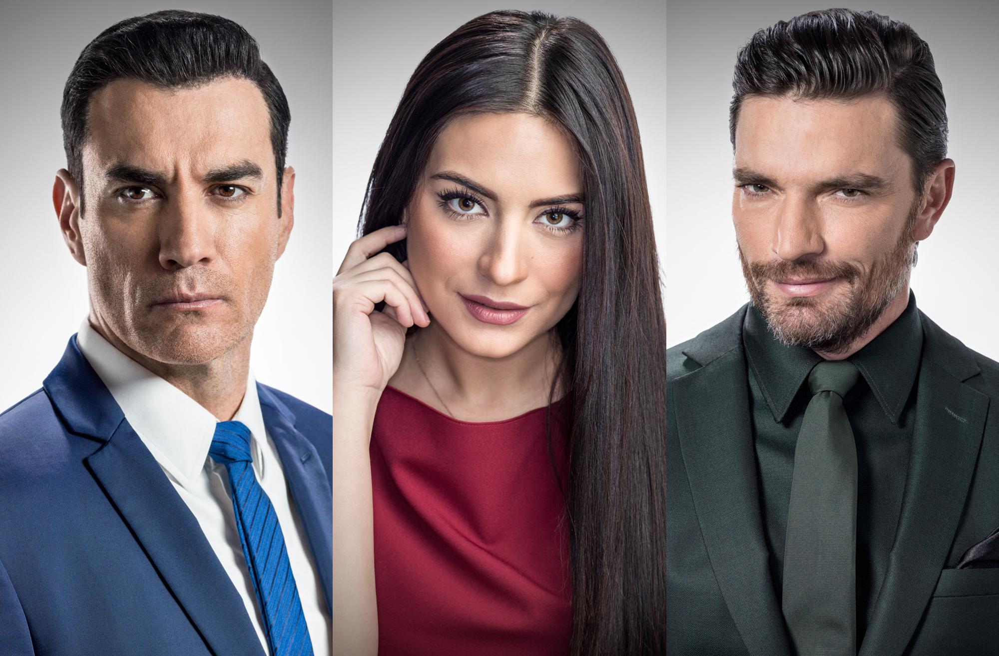 """David Zepeda, Ana Brenda y Julián Gil protagonizan la telenovela """"Por amar sin ley"""""""