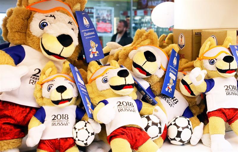 Zabivaka, un simpático lobo, es la mascota del Mundial de Rusia 2018