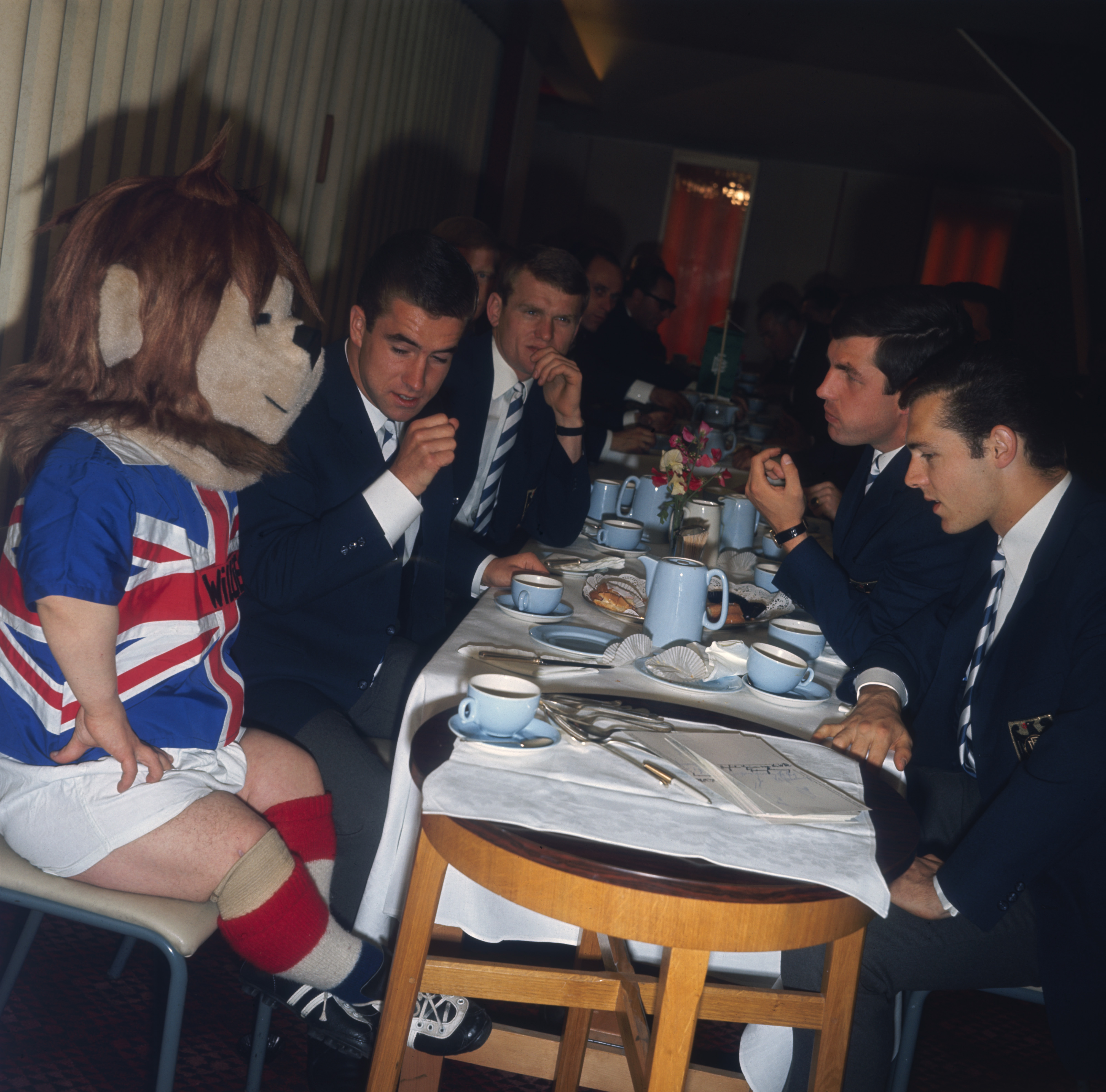 El león Willie (Inglaterra 1966) fue la primera mascota en la historia de los Mundiales