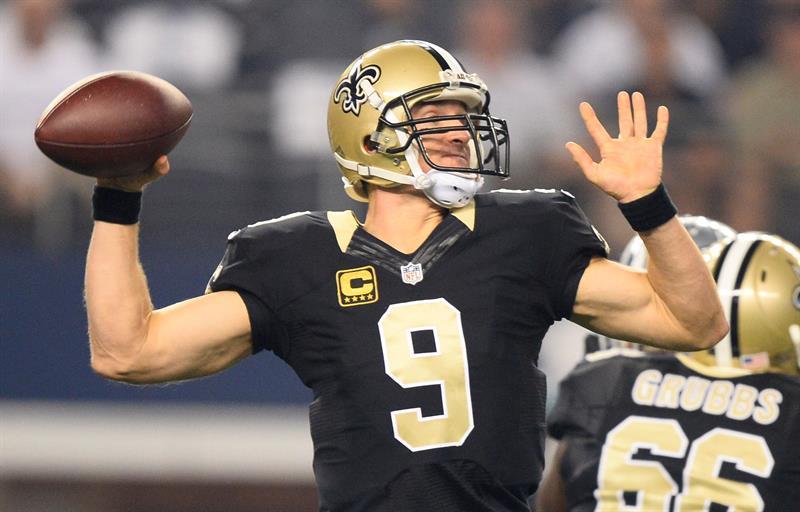Drew Brees impuso una nuva marca como el mejor pasador en la historia de la NFL