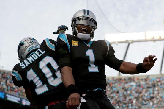 Cam Newton y los Panthers se están divirtiendo en esta campaña.