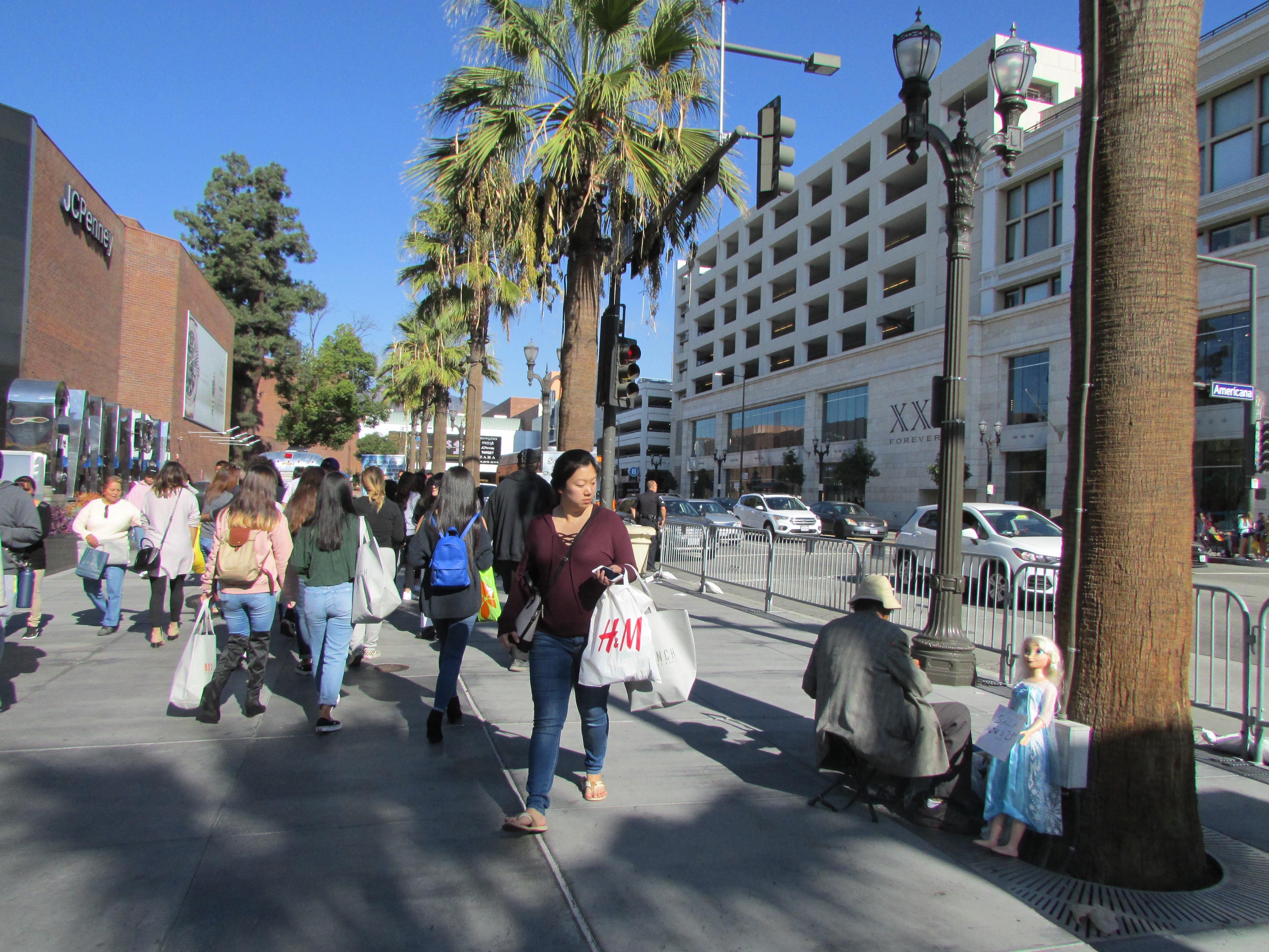 Se estimaba un aumento de 5% en el número de compradores durante el Viernes Negro. (Araceli Martínez/La Opinión).