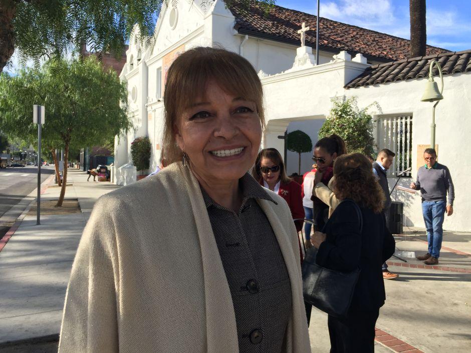 La doctora Martha Esquivel, líder del estado de Guanajuato, conoce de primera mano lo qué es el programa 3x1 y cómo se le puede mejorar. (Araceli Martínez/La Opinión).