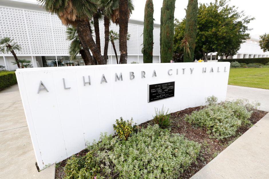 Ayuntamiento de la ciudad de Alhambra. (Aurelia Ventura/La Opinion)