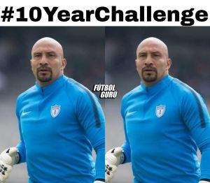 Una ola de memes sacuden a las redes sociales con el #10yearchallenge del fútbol