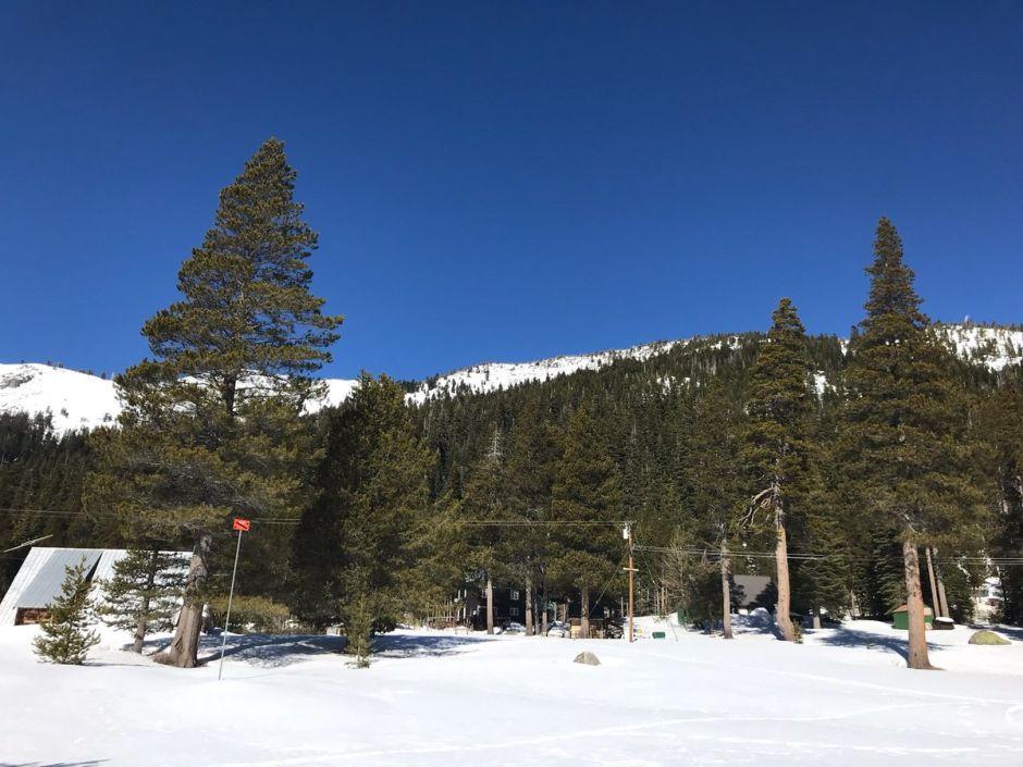 La Sierra Nevada luce con aspecto invernal por estas fechas. (@CA_DWR)