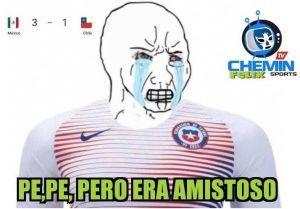 Las redes sociales se inundaron con divertidos memes por el triunfo de México ante Chile