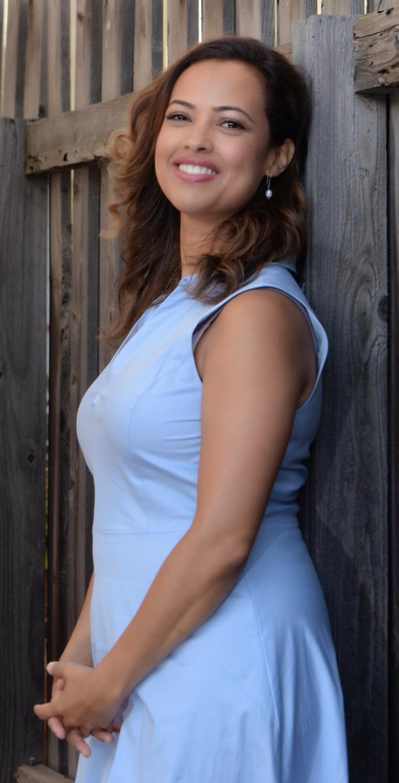 Aura Vásquez se siente muy orgullosa del trabajo que ha logrado a favor del medio ambiente en Los Ángeles. (Foto suministrada)