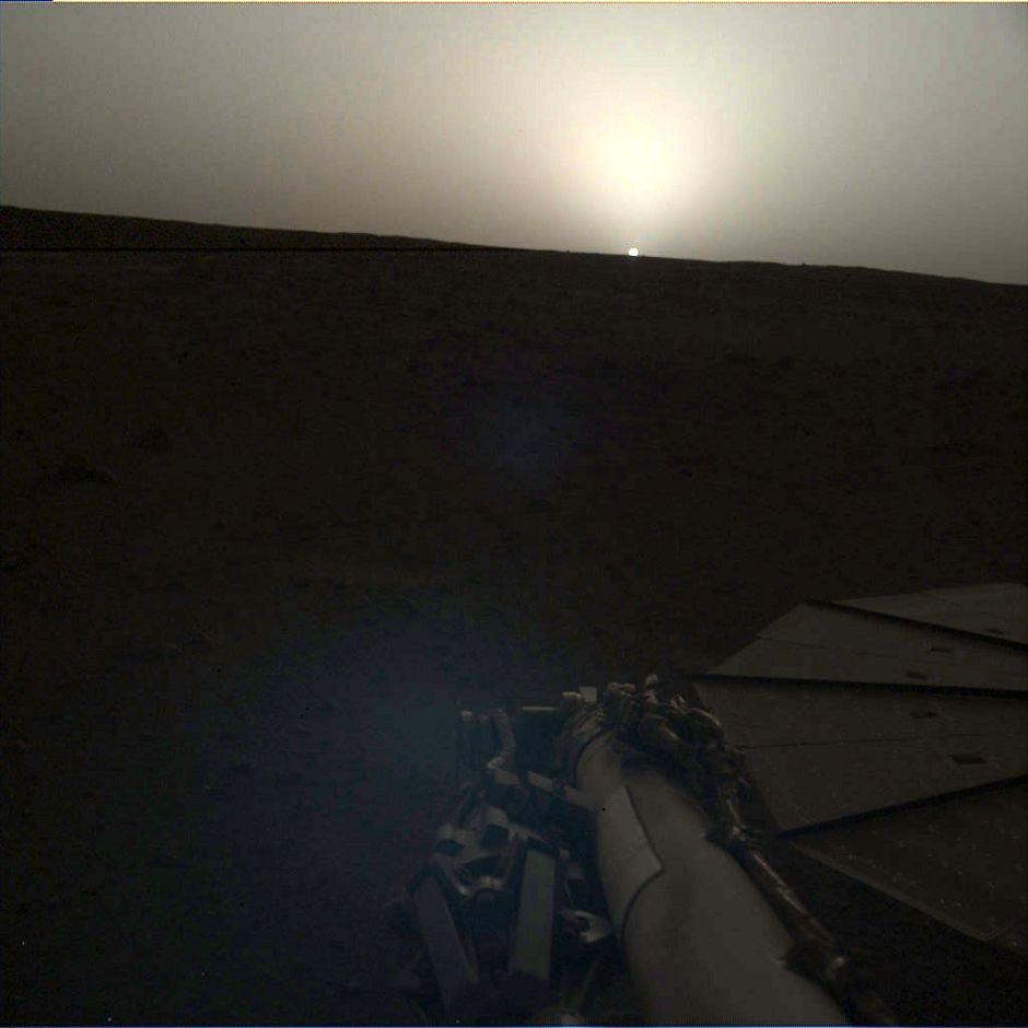 Amanecer en Marte