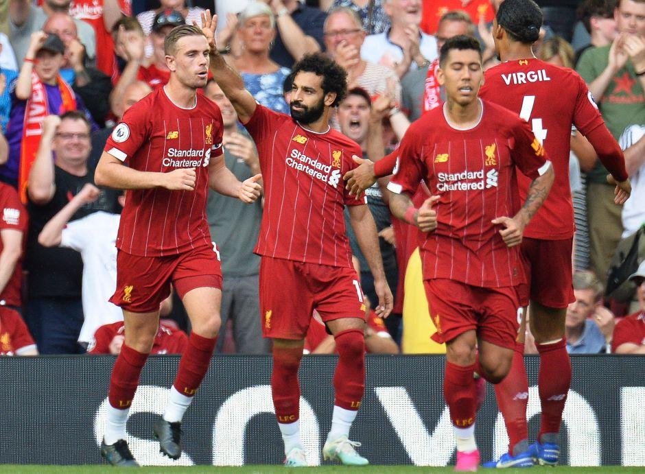 El 'faraón' Mohammed Salah marcó dos tantos