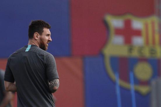 Messi ha estado lesionado desde el 5 de agosto