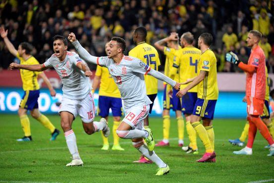 La 'Roja' logró su clasificación de manera matemática la Eurocopa 2020 tras empatar ante Suecia 1-1.