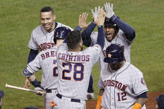 Houston Astros vencieron 7-1 a Washington Nationals en el quinto juego de la Serie Mundial y están a una victoria de conseguir su segundo campeonato en 3 años.