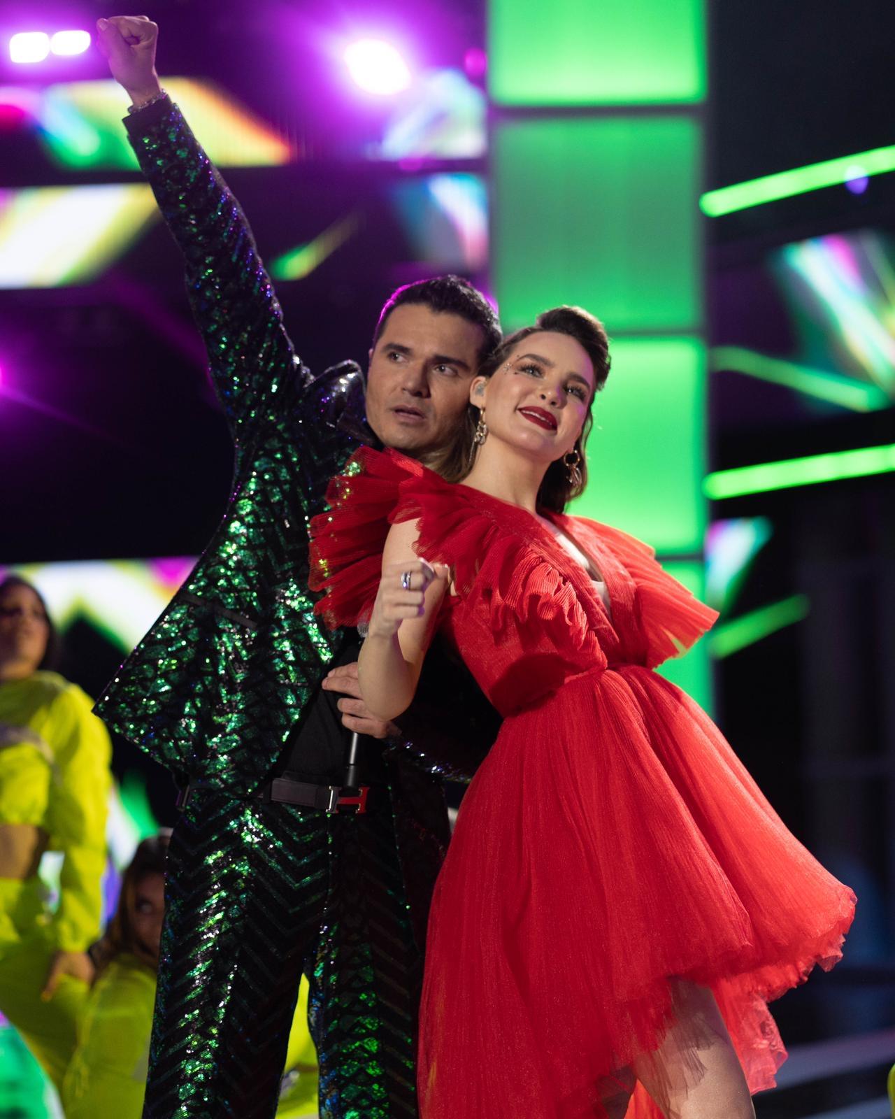 Horacio Palencia y Belinda en los Premios de la Radio 2019