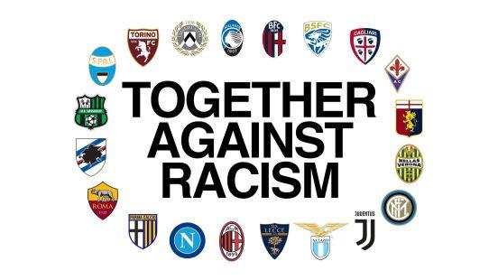 Los 20 equipos de la máxima categoría del futbol italiano se han unido.