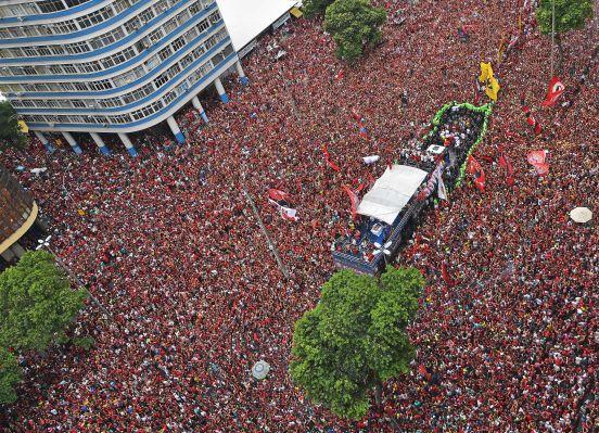 MIles de personas celebraron en Río de Janeiro