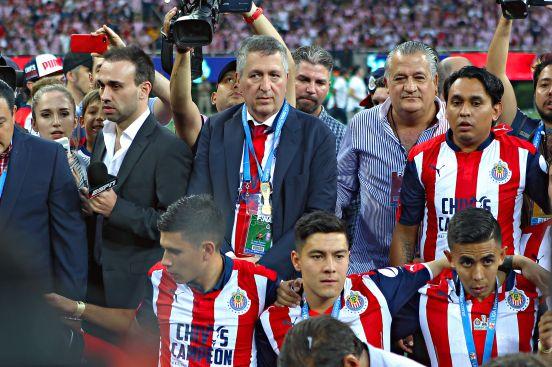 Jorge Vergara, una última vez en el estadio de Chivas.