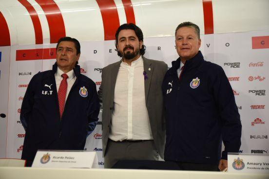 Oficialmente, Ricardo Peláez ya es el director deportivo del Rebaño.