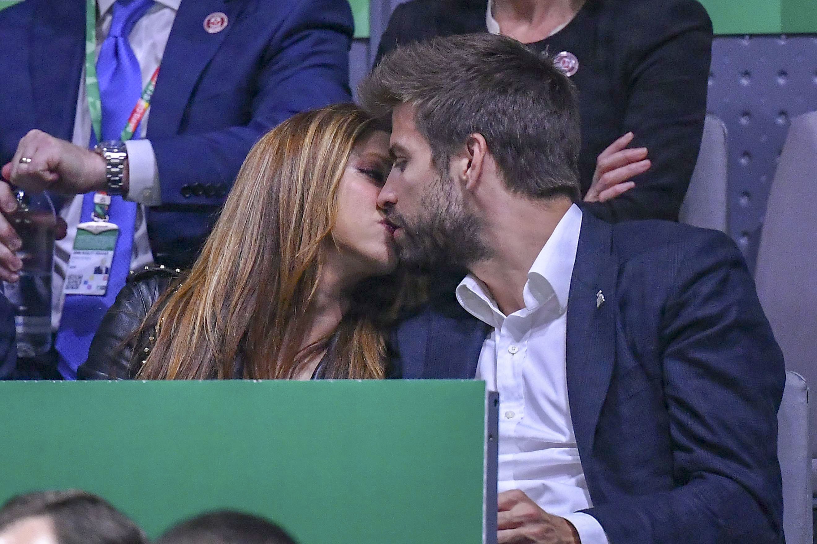 Shakira y Piqué/The Grosby Group.