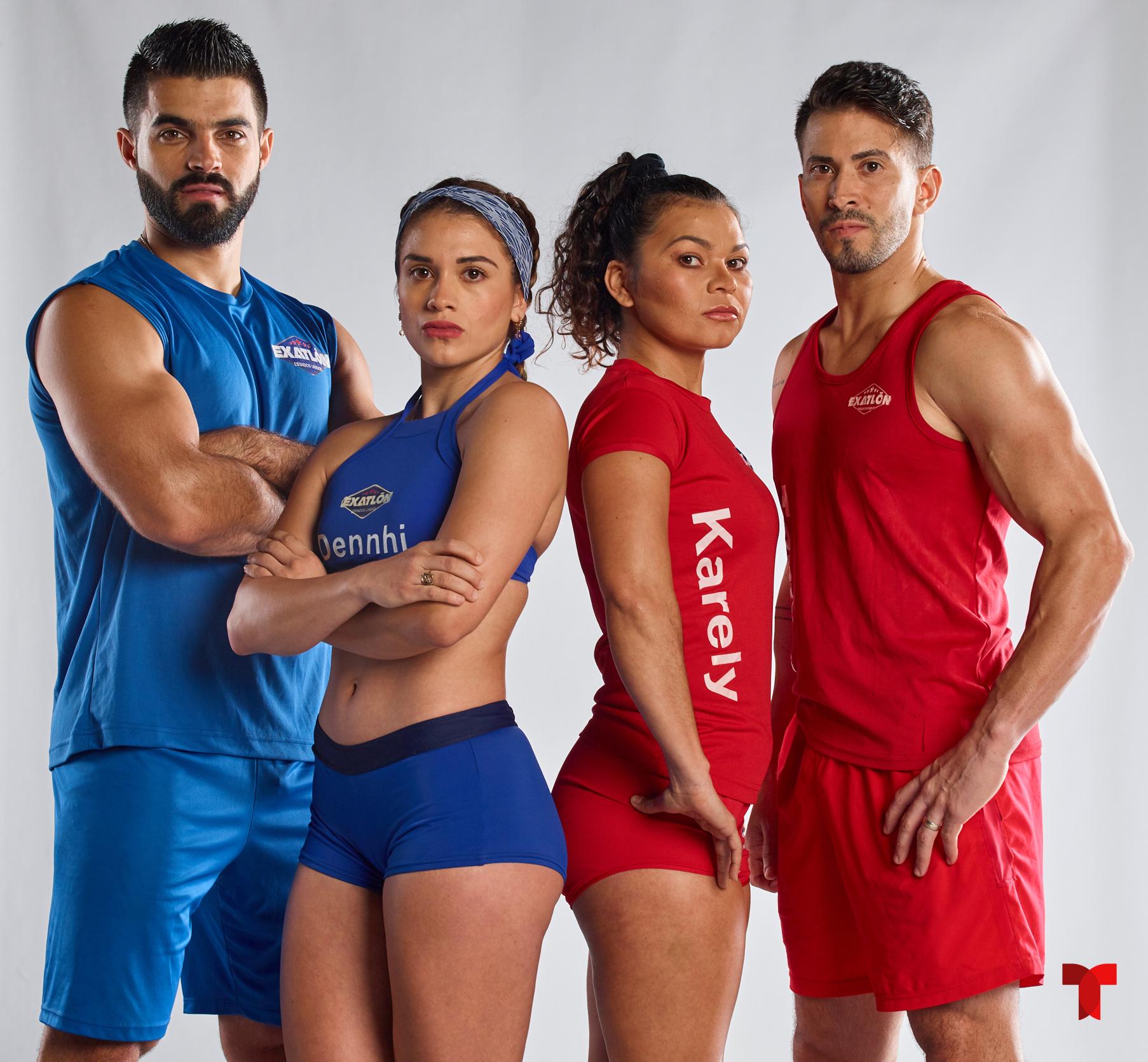 """Los atletas que regresan al """"Exatlón"""" en su cuarta temporada / Foto: Telemundo"""