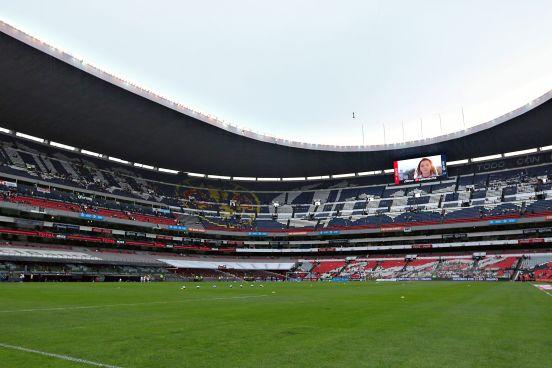 El Estadio Azteca quedará impecable para la final.