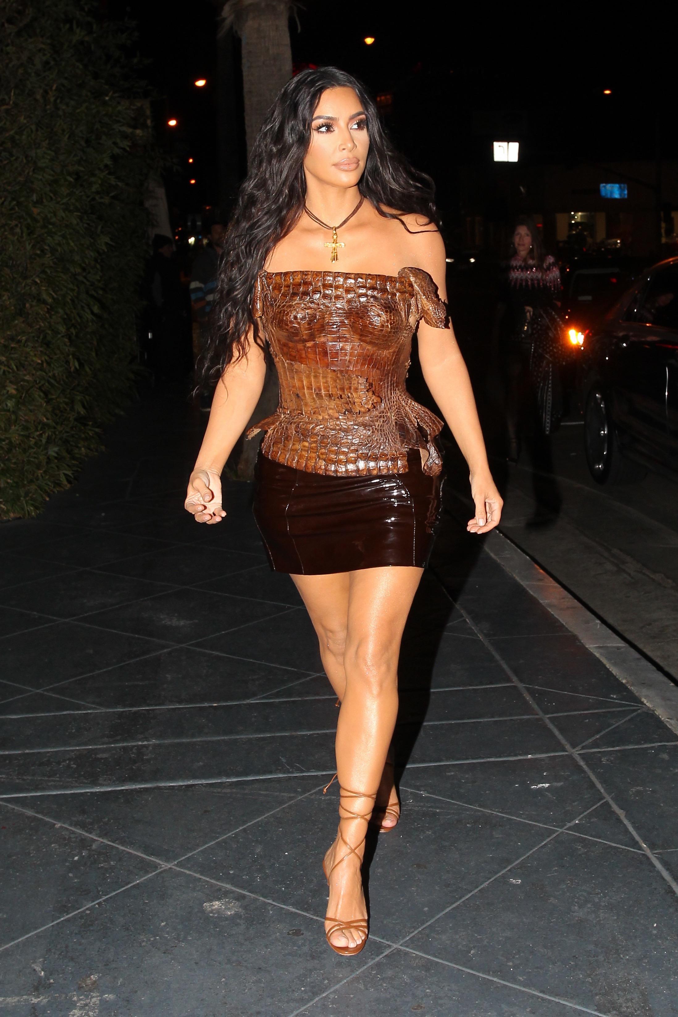 Kim Kardashian/The Grosby Group