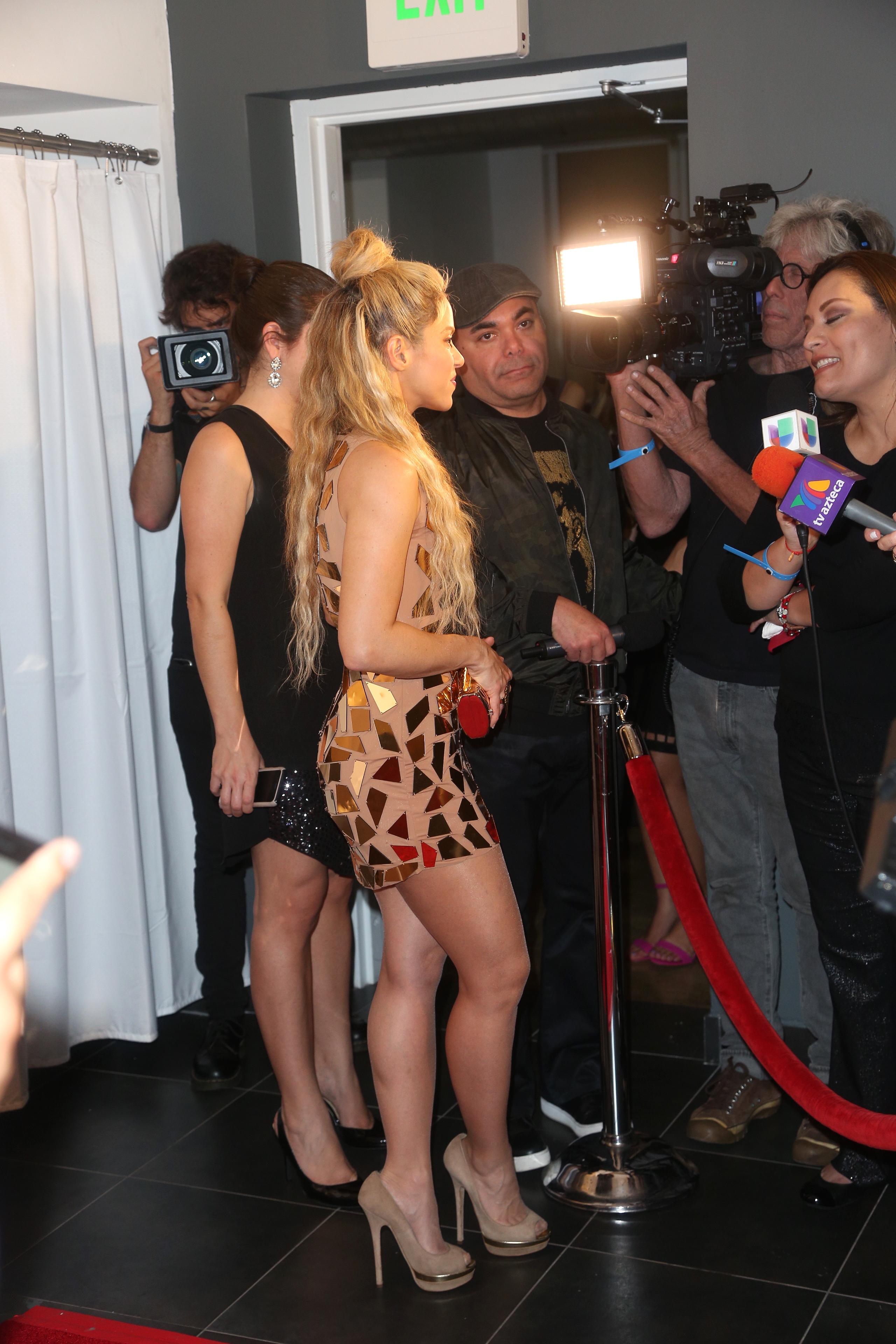 Shakira/Mezcalent.