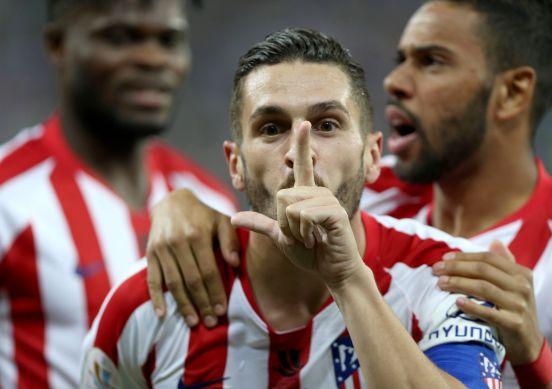 El Atlético de Madrid silenció las gradas en Arabia Saudí y derrotó al Barcelona.