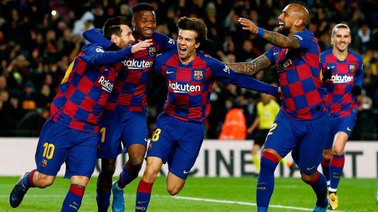 Lionel Messi, Busquets y Piqué estarán de regreso para la visita al Mestalla