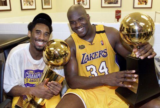 Kobe y Shaq formaron una dupla legendaria.